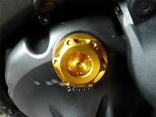 Suzuki GSXR1000 K1-L8 2001-2018 Tapón De Llenado Aceite CNC Oro Tornillo Tapa de relleno R1A9
