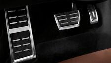 AT1 Pedalset Pedale Pedalkappen Fußstütze Edelstahl Automat Audi A3 Cabrio 2014