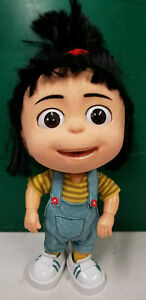 "Despicable Me Agnes 11"" talking doll Universal Studios Thinkway Toys TESTED"