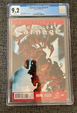 Superior Carnage Annual #1 CGC 9.2 Rafa Garres cover 1st She-Carnage - WP, NM