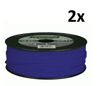 Lot of 2 METRA The Install Bay 18 Gauge 500 Ft Primary wire Blue 100% OFC Copper