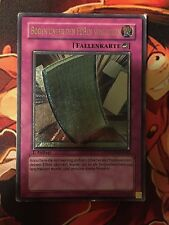 PULLING THE RUG ULTIMATE RARE GERMAN STON-EN060 DE060 MODERATE PLAY YUGIOH