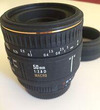Sigma 50mm 1:2,8 D EX Macro