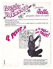 1969 : Document (Ref DAN ) PUB POUPéE BELLA TRESSY  1 page