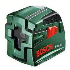- new - Bosch PCL 10 Cross Line Laser Level & Tripod  0603008101 3165140471596