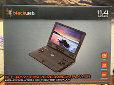 "Blackweb 11.4"" High Resolution HD Portable Display Blu-ray Disc/DVD Media Player"