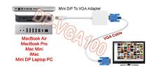 Mini Display Port Male To D-Sub VGA Female Adapter Cable