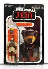 Princess Leia Boushh Return of the Jedi UK 65 back Mint on damaged card Rare