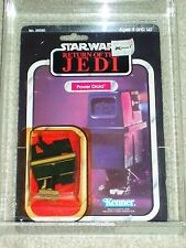 Vintage Star Wars 1983 KENNER AFA 80/80/85 POWER DROID ROTJ 65 Back-B card MOC!