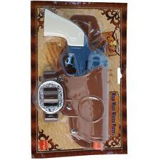 Adult Wild West Cowboy Fancy Dress Revolver Gun & Holster Water Pistol Smiffys