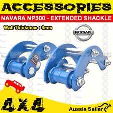 Superior 4X4 Accessories - BLUE EXTENDED SHACKLE - NAVARA NP300