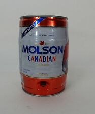 Limited Edition Molson Canadian Lager Detriot Red Wing Edition 1.3 Gal. Can