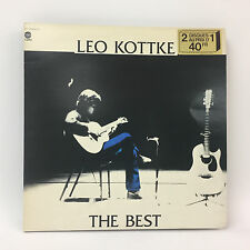 Leo Kottke - The Best | Capitol 1977 | LP: Near Mint | Cleaned Vinyl LP