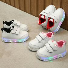 Infant Toddler Baby Girl Boy Light LED Luminous Sport Running Shoes Sneakers Hot
