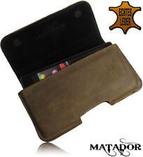 Ledertasche Handytasche Gürteltasche Quer Tasche Matador Antik Samsung Note 3