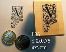P96 calligraphy letter V
