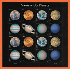 US Views of Our Planets 16 Stamps PSA pane 2016 ~ Sold out in USPS