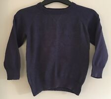 Boys Navy Long Sleeved Top Size 3-4 Years