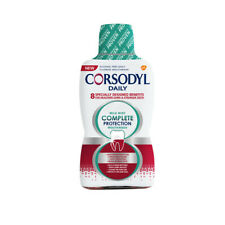 Corsodyl Daily Mild Mint Complete Protection Mouthwash 500ml