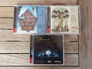 Bose Gold CD Nr.2 ,Nr.3, Nr.4 NEU noch in Folie Zounds Music 24 Karat Echtgold