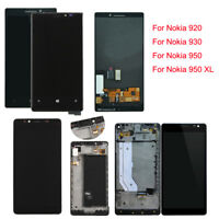 F Nokia Lumia 640 950 XL 800 830 920 1020 LCD Screen Touch Digitizer (Frame) Lot