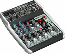 Behringer XENYX Qx1002usb Mixer Small Format 10 Input W/multi FX Audio Interface
