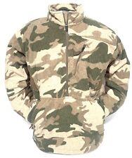 Cabela's Men's Outfitter Camo Silent 1/4 Zip WindShear Waterproof Hunting Jacket