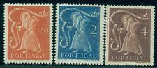 Portugal #724-6 St. John, high values in set, og, Lh, Vf, Scott $89.00