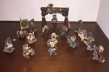Boyds Bears, 1st Edition Nativity Pageant, 17 Pc. set, NIB, **1st Edition!!**