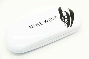 NINE WEST SUNGLASSES EYEGLASSES OPTICAL HARD WHITE CASE ONLY