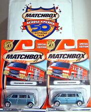 "MATCHBOX ""premiere"" série vw Microbus New york set 2002"