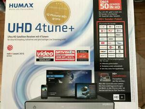 Humax UHD 4tune+ HD-SAT-Receiver - 500 GB Festplatte eingebaut, OVP