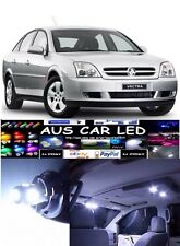 Holden Vectra Zc 2003 White LED Interior Light upgrade Kit (4pce)