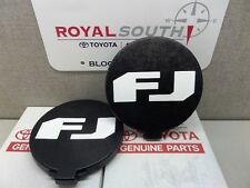 Toyota FJ Cruiser Fog Light Lamp Covers Set Genuine OEM OE