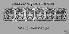FORD 4.9 OHV 300 HSC F150 TRUCK ECONOLINE VAN EFI CYLINDER HEAD 87-96 REBUILT