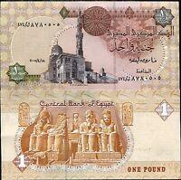 EGYPT 1 POUND 2005 P 50 AUNC