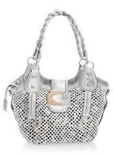 KORRIN TOTE Long Handles & Shoulder Strap Handbag for Women's, Silver