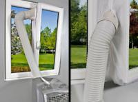 Hot Air Stop Klimaanlage Fenster Abdichtung AirLock AirStop Klimagerät Mobile