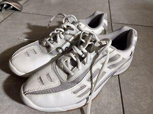 Excellent! EKTELON Men's Racquetball Shoes White Size 10 Renegade Low