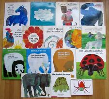 Lot 16 ERIC CARLE Picture & Board Books Brown Bear, Polar Bear, Panda Bear L2