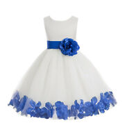 FLOWER GIRL DRESS 12-18M 2 2T 3 3T 4 4T 5 5T 6 6T 7X 8 9 10 11 12 13 14 15 16
