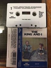 The King and I Original Broadway Cast Recording NM Cassette Tape tested MCA pres