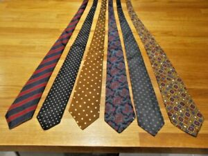 RENDELL & SON LTD, SILK TIE BUNDLE, ALL USED & IN GOOD CONDITION