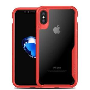 Ipaky Red Super Series Case cover for Apple Iphone 10 X Max Bumper Protection