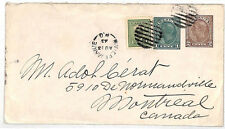 VV135 1943 Canada Riviere Manie Montreal Cover {samwells-covers}