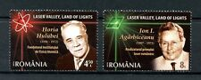 Romania 2016 MNH Laser Valley Land of Lights 2v Set Physics Science Stamps