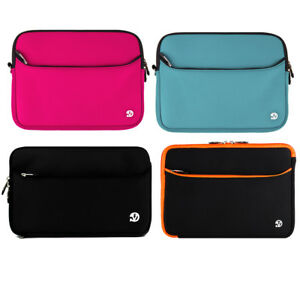 """For 10"""" Apple iPad 8th 10.2 (2020) Neoprene Tablet Protector Soft Sleeve Pouch"""