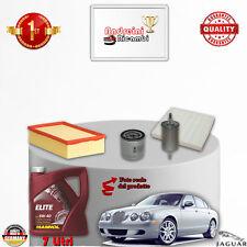 KIT TAGLIANDO FILTRI + OLIO JAGUAR S-TYPE 3.0 V6 175KW 238CV DAL 1999 -> 2008