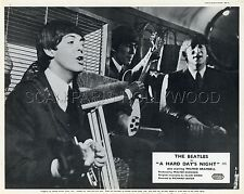 THE BEATLES PAUL McCARTNEY A HARD DAY'S NIGHT 1964 VINTAGE LOBBY CARD #1