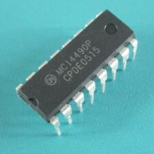 5PCS MC14490P IC ELIMINATOR BOUNCE HEX 16DIP NEW
